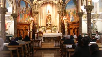Messe à Saint-Césaire Canada FSSPX