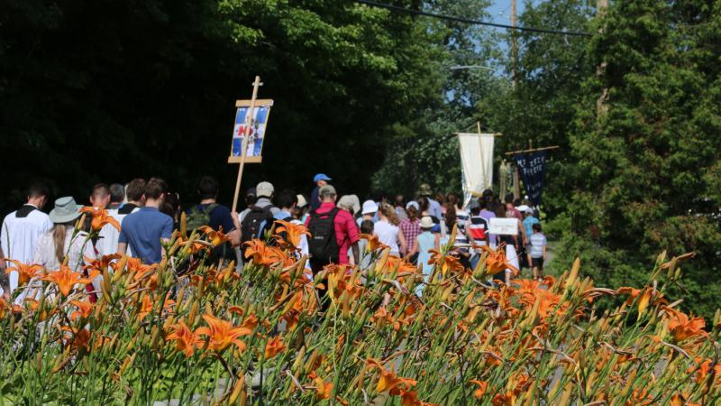Pèlerinage à  Sainte-Anne-de-Beaupré - Québec