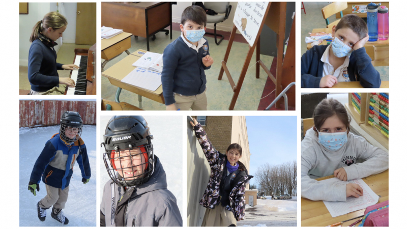 Chronique de l'École Sainte-Famille - Lévis - 2021