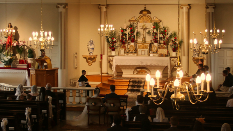 Messe de mariage à Lévis - Ecole Sainte-Famille