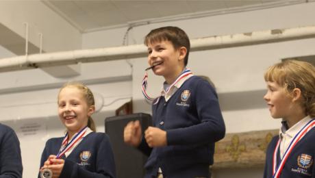 Jog-O-Thon à l'École Sainte-Famille de Lévis